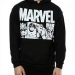 Marvel Homme Comics Action Tiles Sweat à capuche de la marque Marvel image 3 produit