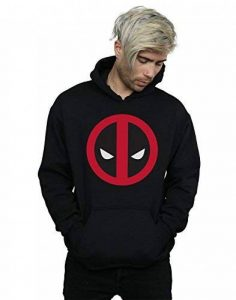 Marvel Homme Deadpool Large Clean Logo Sweat À Capuche de la marque Absolute Cult image 0 produit