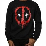 Marvel Homme Deadpool Splat Face Sweat-Shirt de la marque Marvel image 3 produit