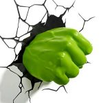 Marvel Hulk Fist 3d Wall Light de la marque 3D Light FX image 4 produit