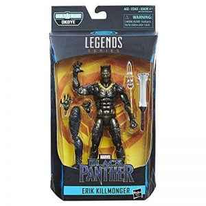 Marvel Legends Black Panther – Figurine Erik Killmonger 15 cm de la marque Marvel image 0 produit