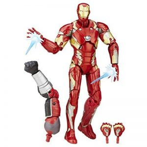 Marvel - Legends Series - Figurine Iron Man Mark 46 - 15 cm de la marque Marvel image 0 produit