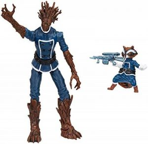 Marvel Legends Series Groot And Rocket Raccoon Comic Lot de 2 de la marque Marvel image 0 produit