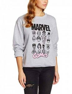 Marvel Multi Head, Sweat-Shirt Femme de la marque Marvel image 0 produit