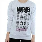 Marvel Multi Head, Sweat-Shirt Femme de la marque Marvel image 3 produit