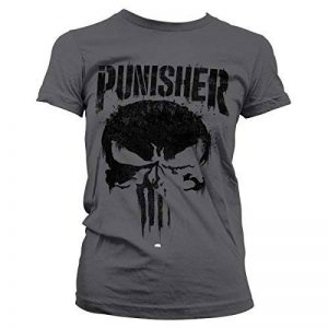 Marvel Officiellement sous Licence Punisher Big Skull T-Shirt Femme de la marque Marvel image 0 produit