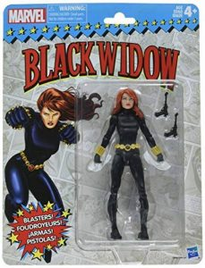 Marvel Retro Collection de 6 pouces de figurine de Black Widow de la marque Marvel image 0 produit