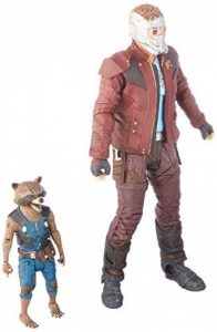 Marvel - Select Gardiens de la Galaxie 2 Star-Lord et Rocket Action Figure, JAN172663 de la marque Marvel image 0 produit