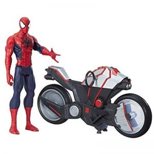 Marvel Spiderman - B9767 - Spiderman Figurine Titan 30 Cm Et Vehicule de la marque Marvel Spiderman image 0 produit