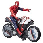 Marvel Spiderman - B9767 - Spiderman Figurine Titan 30 Cm Et Vehicule de la marque Marvel Spiderman image 1 produit