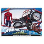 Marvel Spiderman - B9767 - Spiderman Figurine Titan 30 Cm Et Vehicule de la marque Marvel Spiderman image 2 produit