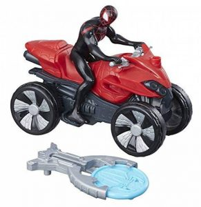 Marvel Spiderman Spiderman Figurine Vehicule Blast et Go Kid Arachnid, B9995 de la marque Marvel Spiderman image 0 produit