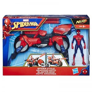 Marvel Spiderman - Spiderman Vehicule 3 en 1 avec Figurine, E0593 de la marque Marvel Spiderman image 0 produit