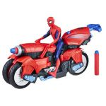 Marvel Spiderman - Spiderman Vehicule 3 en 1 avec Figurine, E0593 de la marque Marvel Spiderman image 1 produit