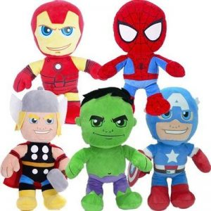 Marvel Super Hero Chunky Plush Soft Toy (Hulk) 25cm by BARGAINS-GALORE de la marque BARGAINS-GALORE image 0 produit