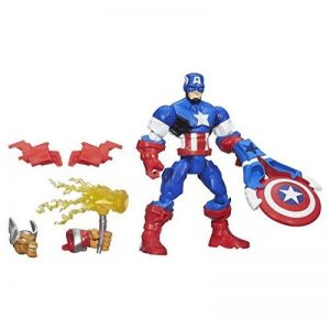 Marvel Super Hero Mashers – Captain America – Figurine Personnalisable 15 cm de la marque Marvel image 0 produit