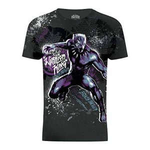 Marvel T-Shirt Black Panther 'Warrior King' - Adulte Mixte de la marque Marvel image 0 produit