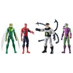 Marvel – Titan Hero Series – Spiderman, Le Vautour, Doc Ock et Green Goblin – 4 Figurines 30 cm de la marque Marvel image 1 produit