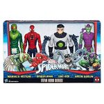 Marvel – Titan Hero Series – Spiderman, Le Vautour, Doc Ock et Green Goblin – 4 Figurines 30 cm de la marque Marvel image 2 produit
