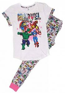 MARVELS COMICS - Ensemble de pyjama - Femme WHITE & MULTICOLOURED de la marque MARVELS COMICS image 0 produit