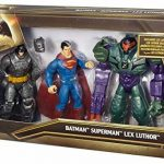 Mattel – Batman V Superman – DHY28 – Batman Superman & Lex Luthor – 3 Figurines Articulées de la marque Mattel image 3 produit