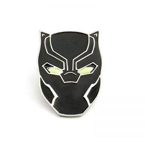 OMG Avengers Black Panther Pin Glow in the Dark Brooch Wakanda King T'Challa **FREE GIFT BAG** with all orders Manufacturer: OMG de la marque OMG Inc image 0 produit
