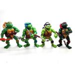 onogal 6x Les figurines des Tortues Ninja Donatello Raphael Michelangelo Leonardo Splinter Shredder 4677 de la marque onogal image 1 produit
