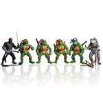 onogal 6x Les figurines des Tortues Ninja Donatello Raphael Michelangelo Leonardo Splinter Shredder 4677 de la marque onogal image 3 produit