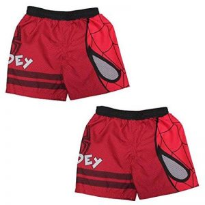 (Pack of 2) peu garçons MARVEL COMICS SPIDERMAN Dri-Fit Short de bain / Trunks de la marque MARVEL COMICS image 0 produit