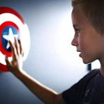 Philips APPLIQUE 3D LUMINEUSE Disney Captain America de la marque Philips Lighting image 2 produit