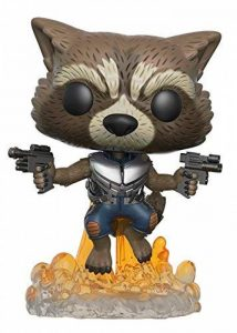 POP Guardians 2 Rocket Raccoon Bobblehead Figure de la marque Funko Pop! Movies: image 0 produit
