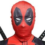 QQWE Marvel Deadpool Costume De Déguisement Adultes Enfants Halloween Cosplay Costume Body Spandex Combinaisons Cosplay Ensemble Complet De Vêtements,A-Children-XL de la marque QQWE image 3 produit