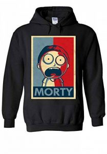 Rick and Morty TV Series Funny Novelty Black Men Women Unisex Hooded Sweatshirt Hoodie de la marque PatPat Store image 0 produit