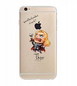 Shot Case - Coque Silicone IPHONE 6/6S Thor Avengers Marvel Apple Cartoon Disney Protection Gel Souple de la marque Shot Case image 0 produit