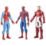 Spiderman - C2413EU40 - Pack de 3 Figurines - 30 cm de la marque Marvel Spiderman image 1 produit