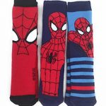 Spiderman Lot de 3 Chaussons Chaussettes Marvel - Disney de la marque Spiderman image 3 produit