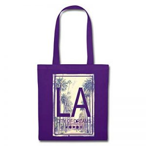 Spreadshirt Smiley World LA City Of Dreams Tote Bag de la marque Spreadshirt image 0 produit