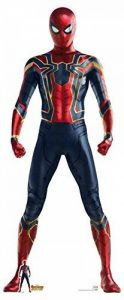 Star découpes 71 officiel Marvel personnage Carton Grandeur nature Iron Spider (Avengers : infinity War) Spider-Man/Peter Parker, Multicolore de la marque Star Cutouts image 0 produit