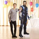 Star découpes officielle Marvel Avengers infinity War ultime Thor Chris Hemsworth Carton Grandeur nature de la marque Star Cutouts image 4 produit