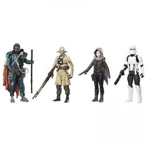 Star Wars - C1231EU40 - Rogue One Pack de 4 Figurines - 10 cm de la marque Star Wars image 0 produit