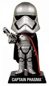 Star Wars E7 Captain Phasma Wacky Wobbler de la marque Funko Pop! Star Wars: image 0 produit