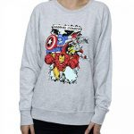 sweat marvel comics TOP 2 image 3 produit