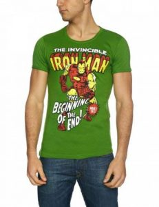 tee shirt marvel adulte TOP 2 image 0 produit