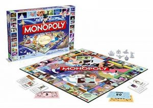 Winning Moves - 0932 - Monopoly Disney Classic - Version Française de la marque Winning Moves image 0 produit